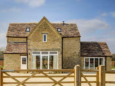 Converted holiday barn in the Cotswolds