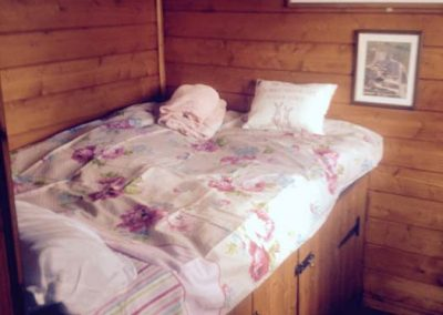 Log Cabin bed with storage